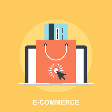 electronic commerce: E-commerce Illustration