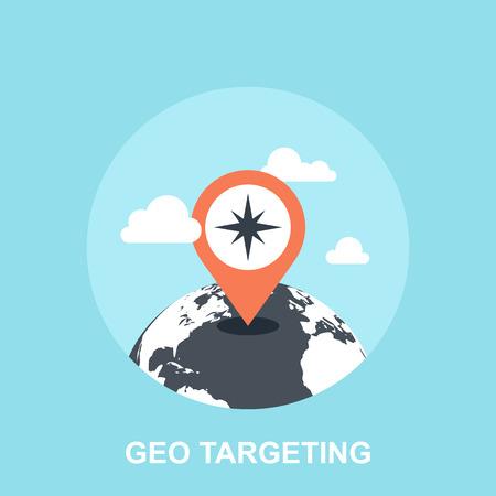 map pointer: Geo Targeting