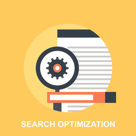 icons site search: Search Optimization Illustration