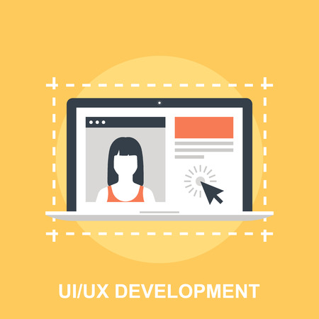 user experience design: UI UX Development