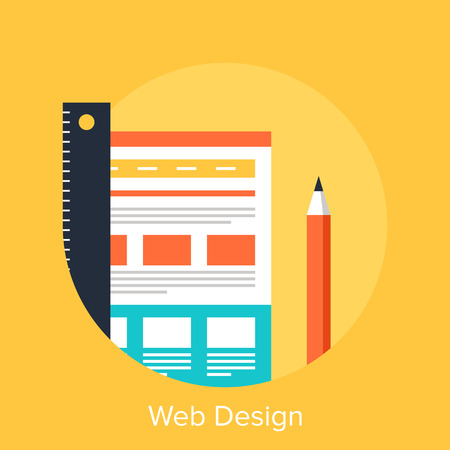 design icon: Web Design Illustration