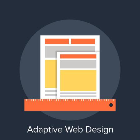 adaptive: Adaptive Web Design Illustration