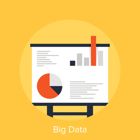 market research: Big Data Illustration