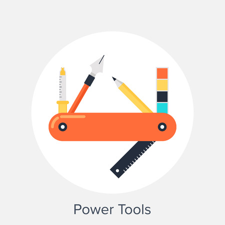 Power Tools Illustration
