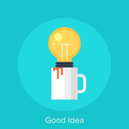 good idea: Good Idea Illustration