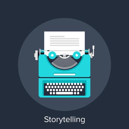 maquina de escribir: Cuentacuentos