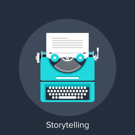 typewriter: Storytelling