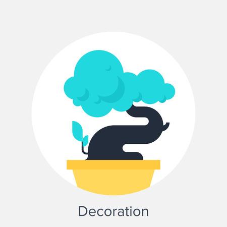 dekoracja: Dekoracja Ilustracja