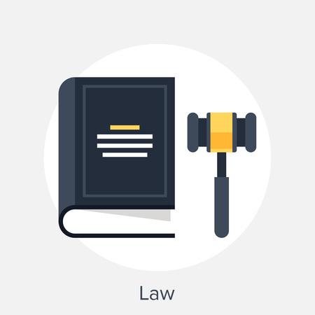 Concepto de derecho Foto de archivo - 35739607