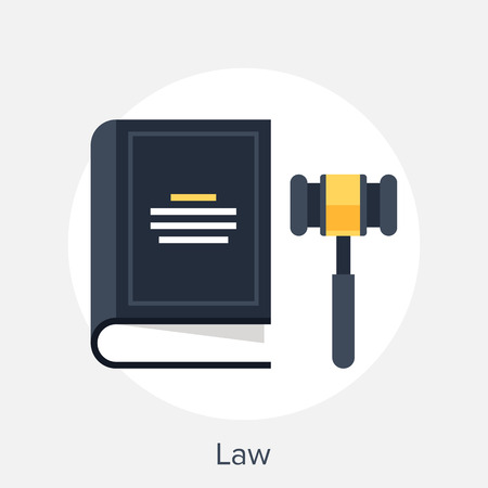 business law: Law Concept