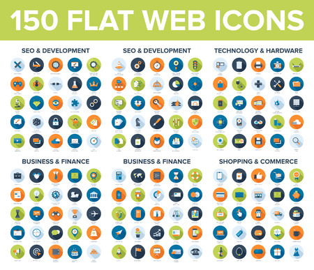 social commerce: Web Icons