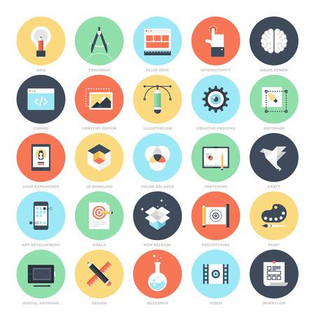 Creatieve Proces iconen