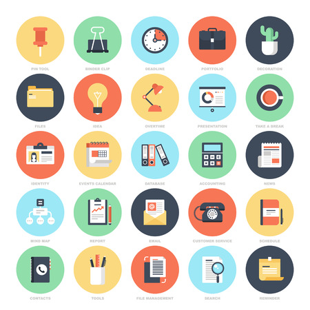 office icons: Office Icons