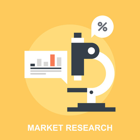 research: Market Research Illustration