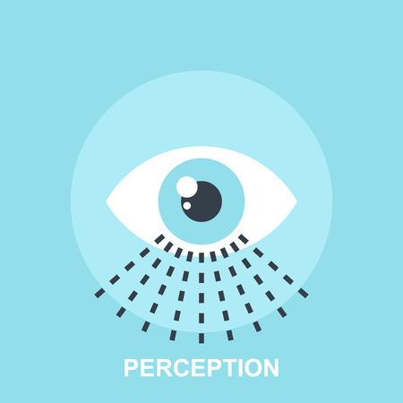wahrnehmung: Wahrnehmung Illustration