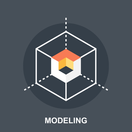 3D Modeling Illustration