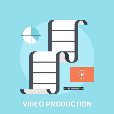 Video Production  イラスト・ベクター素材