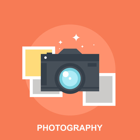 digital photo camera: Photography Illustration