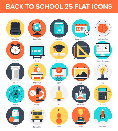education technology: Education Icons