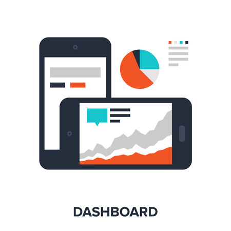 dashboard Stock Vector - 41505435