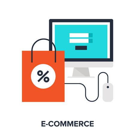 e commerce icon: digital commerce