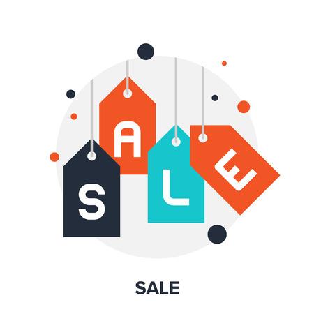 price tags: sale icon Illustration