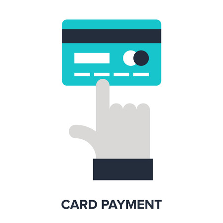 card payment: card payment Illustration