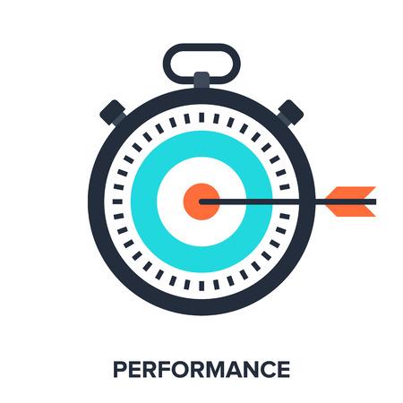 performance: performance Illustration