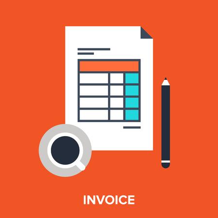 invoice: invoice Illustration