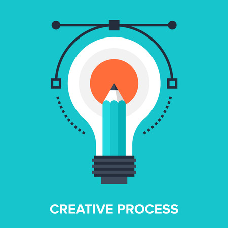 light bulb icon: creative process
