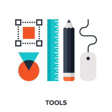 design: outils de conception Illustration