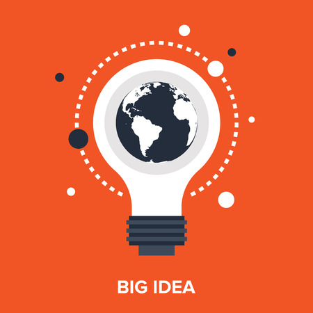 big idea Stock Illustratie