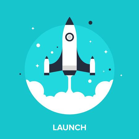 launch: launch Illustration