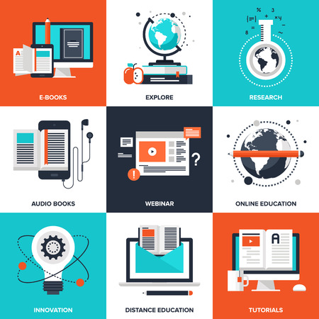 information international: E-Learning Illustration
