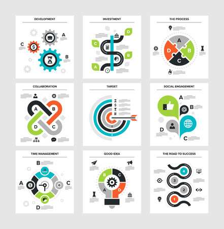 business development: Business Infographics