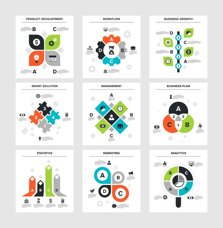 solutions icon: Business Infographics