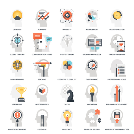 personality development: Personal Skills Icons