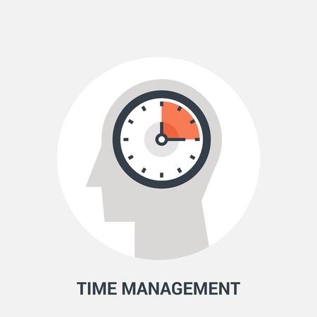 management concept: time management icon concept