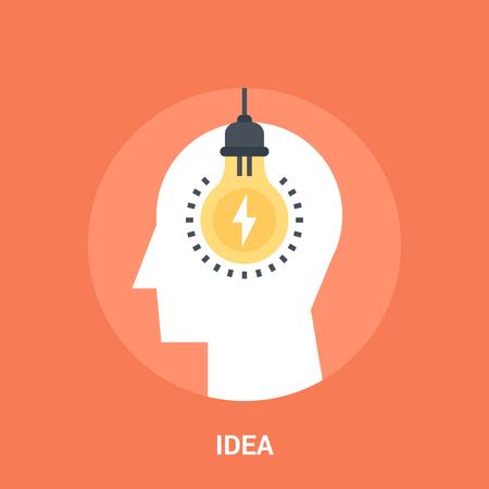 idea icon concept Stock Photo