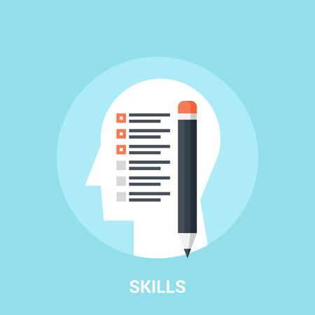 personality development: skills icon concept