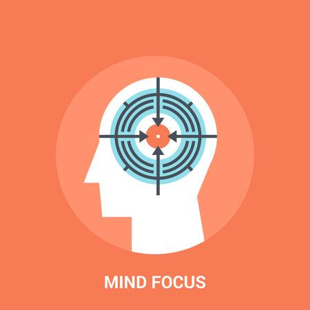 geest aandacht icoon concept