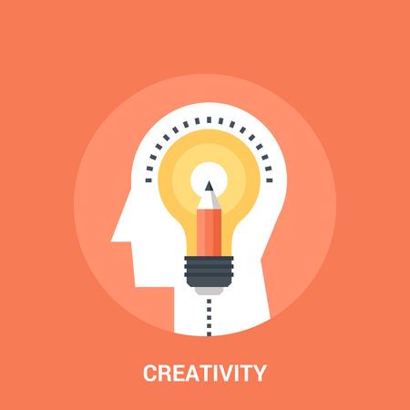 teachings: creativity icon concept