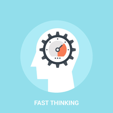 engine: fast thinking icon concept