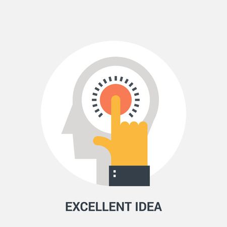expertise: excellent idea icon concept