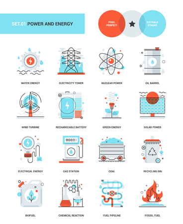 power station: Power and Energy