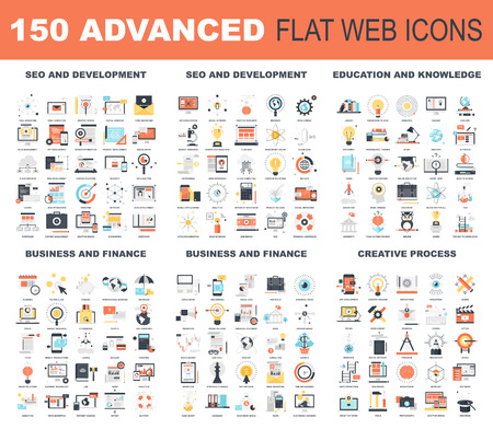 find: Advanced Flat Web Icons