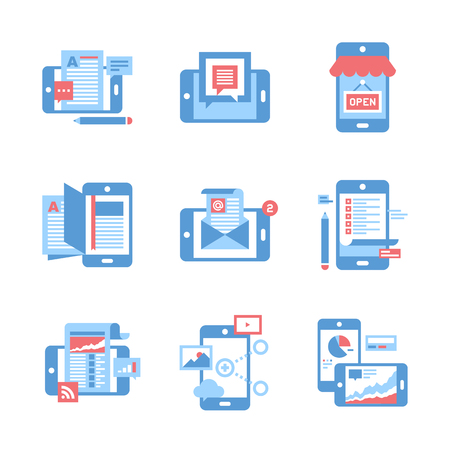 technology: Mobile Applications concept