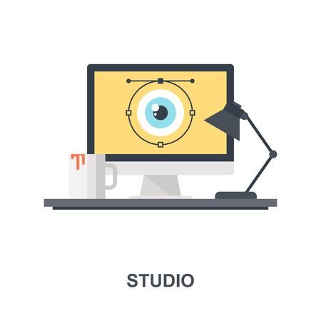 Studio icon concept
