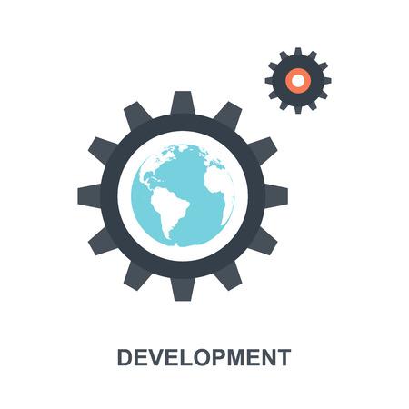 Development icon concept