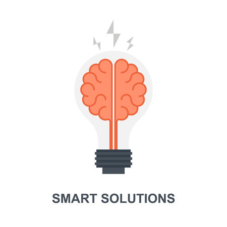 Smart Solutions icon concept